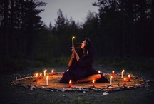 Writing Inspiration - Celtic, Druids and Witches / I started writing a story years ago that began with a Beltane fire dance. It might be time to revisit it! I would love to do a story that spanned the holidays and seasons. I also seem to be leaning toward a red-haired main character...  / by Sara Hemenway