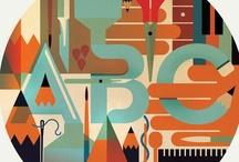 ArT IdeaS: Graphic Design / by Karen Campbell