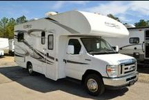 Featured RVs / In an attempt to continue providing you nothing but the best service, we're now bringing some of our newest and best rigs to YOU! Window shop this board of RVs and click through to our site for more details! / by Camping World