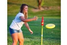 Campsite Games / A camping trip wouldn't be the same without spending some time outside playing together! At Camping World we have a variety of products for outdoor summer fun. / by Camping World