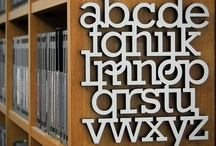 Alphabetized / A collection of cool alphabets. / by FontShop