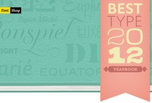 Best Typefaces of 2012 / FontShop's list of the best typefaces of 2011. / by FontShop