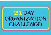 Organizing / by Janice-Bob Ottley