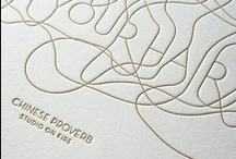 Letterpress It / Lovely lovely letterpress items and designs. / by FontShop