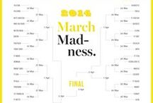 March Madness 2014 / March Madness returns to FontShop this year with a selection fresh off the drawing tables. Several new releases join us as strong and underdog contenders face off in each round of single-elimination madness. Who will take it all? / by FontShop