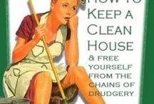 Cleaning Tips / http://pinterest.com/trishparker1953/organizing-ispiration/ / by Trish Parker