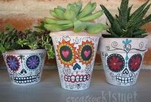 Day of the Dead / Created in honor of the 'Day of the Dead'. A Mexican holiday celebrated each November 1st.  / by Nissa Jewelry
