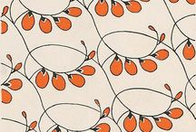 Designs, Patterns, Fabric & Wall Coverings / by Trish Parker