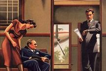 Artists: R. Kenton Nelson / by Kwalitisme