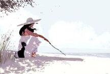 Artists: Pascal Campion / Works of Pascal Campion, illustrator / by Kwalitisme