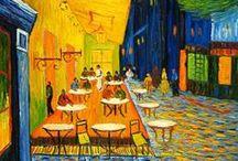 Artists: Vincent van Gogh / The painter Vincent van Gogh / by Kwalitisme