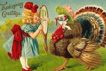 Thanksgiving / Vintage Cards and Retro Turkey Day Decor ;) / by Storm Nyte