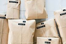 Gift Wrapping Inspiration / by The Hive Studio.