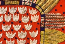 SEW WHAT: Handiwork / Handiwork using needles, threads, yarns and ribbons.  This could be embroidery, knitting, crochet, macrame or weaving. / by Terese Mitchell