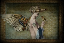 Collages - Assemblages - Collections / by Val Young