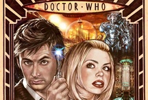 """Dr. Dr. Dr. Who? / """"You've found a breach in time and space and you think should we leave it alone, no let's make it bigger!""""  / by Happineff"""