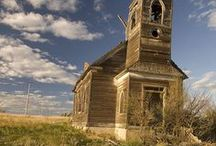 Ghost Towns and Abandoned Buildings / by Ginny Messina