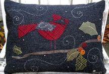 Wool Appliqué  / by Kay Sanderford