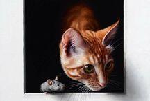 Art   Animals   Domestic / by Rhea Groepper Pettit