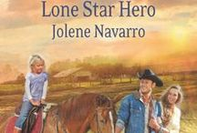 Clear Water 2 Lone Star Hero / After a hurtful divorce, Vickie returns to her home town of Clear Water, Texas, to put her life and kids back on the right track. Jake Torres, her childhood sweetheart, wants to be part of her new life. Can they  find a way to forgiveness and a better future?  / by Jolene Navarro