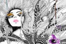 Art Lessons - line art / by Jolene Navarro