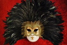 Venetian Masks / Also known as my WISH LIST for future collectibles.  / by Sandy Fischler