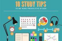 College & Study Go-To's / by Clarissa Ashlyn