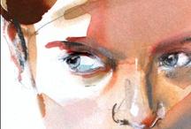art, illustration, design / by Majo Salas