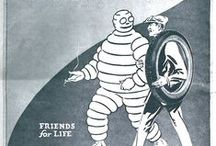 Bibendum a.k.a. The Michelin Man / by Carter Pinnix