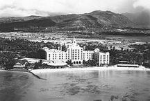 Hawaii - Past and Present / The only Royal Palace in the U.S., Hawaii was ruled by its Royal Family until annexed by the U.S.  A beautiful place, a melting pot of beautiful people with a great history - and a thousand memories for me and my family. / by Margo Carroll