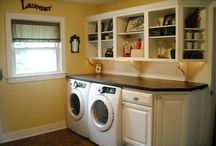 Laundry Room / Ways to dress up a laundry room and make it a nice extension to your home! / by Mindy Brabon