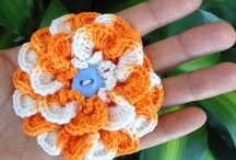 Crochet~Flowers and Appliques / by De'Anna Groves