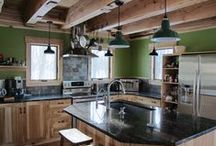 Green and Emerald / Envy these green home decor designs, or be envied for having a green light! / by Barn Light Electric Co.