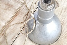 Metallic Accents / Get inspired with these mixed metal accents for decor and lighting. / by Barn Light Electric Co.