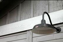 Black is Back / Sleek black decor inspirations  / by Barn Light Electric Co.