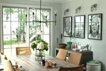 Kitchen & Dining Rooms / Photos of Kitchens & Dinning Spaces with a healthy appetite for vintage and barn style lighting.   / by Barn Light Electric Co.