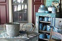 Speckles of Graniteware / We're bringing it back! An oldie but a goodie, everyone remembers graniteware. / by Barn Light Electric Co.