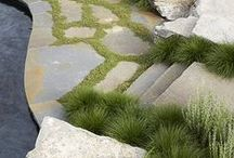 No2: GARDEN PATHS, WALKWAYS, STEPS, DRIVEWAYS AND BORDERS / by G G