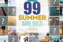 99 Summer Travel Quests / We scoured the United States to find the most memorable, meaningful, just-gotta-do-it summer vacation ideas. We tapped the knowledge of the passionate, travel-loving MapQuest staff, as well as our network of local experts across all 50 states and Washington, D.C. We've emerged with 99 Summer Travel Quests, one to represent each day of the season!  Share your own Summer Travel Quests using the hashtag #99SummerQuests / by MapQuest