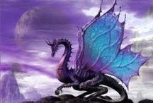 Fantasy-Dragons / Dragons!! / by Virginia Hale