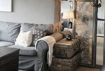 living room inspiration / by Laurie Baxter