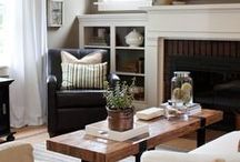 family room inspiration / by Laurie Baxter