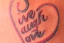 tattoos / by Deborah Hewitt