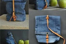 Upcycle ✄ Jeans Denim / Look what you can make with old Denim!! :D Lots of Sewing Tutorials to Upcycle!  ♥ Reduse Reuse Recycle! / by Jollie K