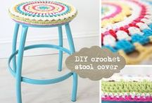 Crochet   Knit   Sew ✄ Home Sweet Home / DIY Knitting Crochet and Sewing for the Home / by Jollie K