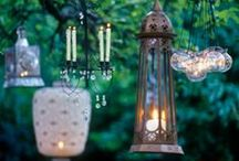 DIY ✄ Light / Make Your Own Light That Shines Upon You! :0)  Personaly I just ♥ to Reduse Reuse and Recycle what we already got! ;0) / by Jollie K