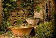 Gardening ✿ Water Elements / My ♥ for Water Elements in the Garden / by Jollie K