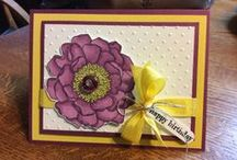 Blended Bloom 2014 Stampin' Up! / by Kathy Wayson