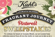 Aromatic Blends Sweepstakes / Want to win? To celebrate the launch of Aromatic Blends, our new scented body collection sourced from all over the world, we want you to take us on a fragrant journey to the country of your choice. The sweepstakes runs through August 12th, so click on the sweepstakes pin below to learn more and start pinning! / by Kiehl's
