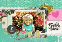 Digital Scrapbook Layouts / Digital Scrapbook Layouts created using Peppermint Creative products / by Peppermint Creative